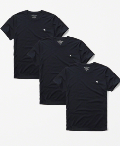 3- Pack Icon Crew Tee Azul