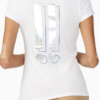 Foil Exclamation Tee Branca,