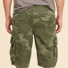 Hollister Cali Longboard Cargo Shorts Verde,,