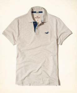 Polo Hollister Stretch Pique Polo