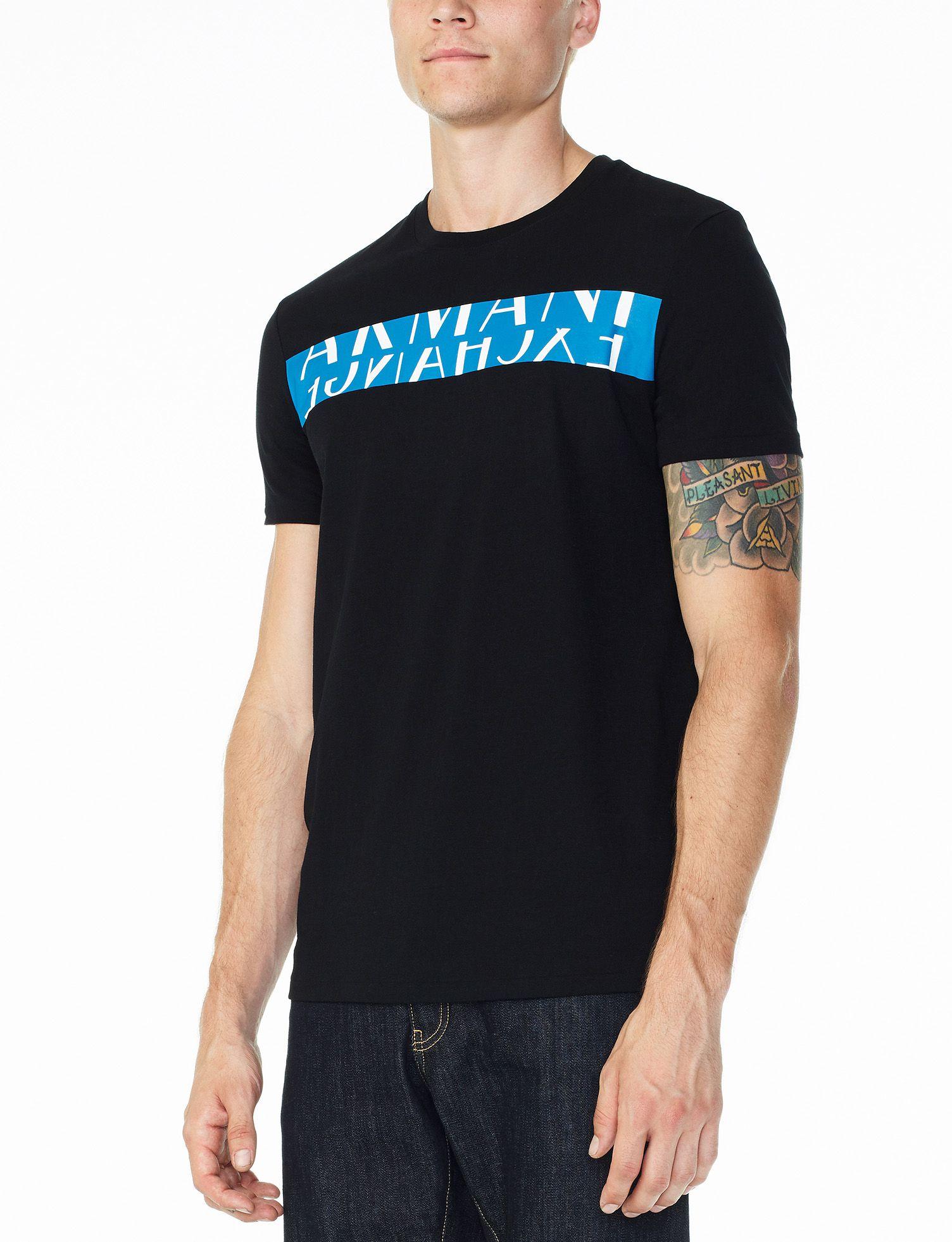 6d5b0707122 Camiseta Armani Exchange Preta - EuEnvio Importados  Relógios ...