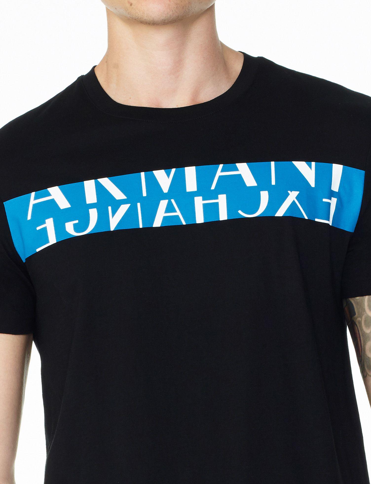 Camiseta Armani Exchange Preta - EuEnvio Importados  Relógios ... 2a234c02adf13