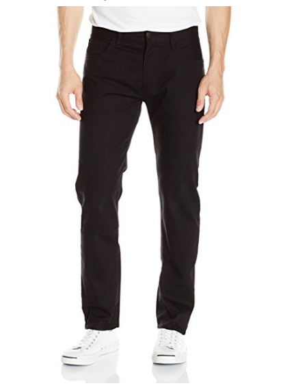 AX Armani Exchange Men's Relaxed Straight-Fit Black