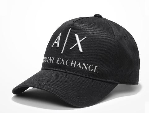 5ab0aa5d0 Boné Armani Exchange Ax Embroidered Hat Preto - EuEnvio Importados ...