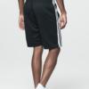 Aero 1987 Side Stripe Mesh Athletic Shorts