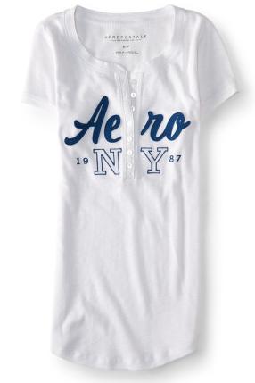 Aero NY 1987 Ribbed Henley