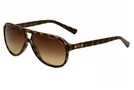 Armani Exchange AX4011 Sunglasses 803713-59 – Tortoise Frame, Light Brown Gradient
