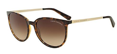 Armani Exchange AX4048S Sunglasses 803713-56 – Tortoise Frame, Brown Gradient