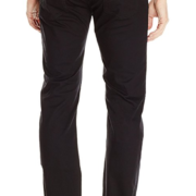 Armani Exchange Men's Relaxed Straight-Fit Black Jean
