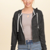 Cropped Boxy Hoodie,