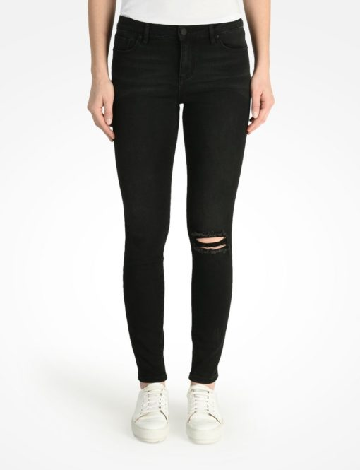 Cropped Super Skinny Ripped Jean