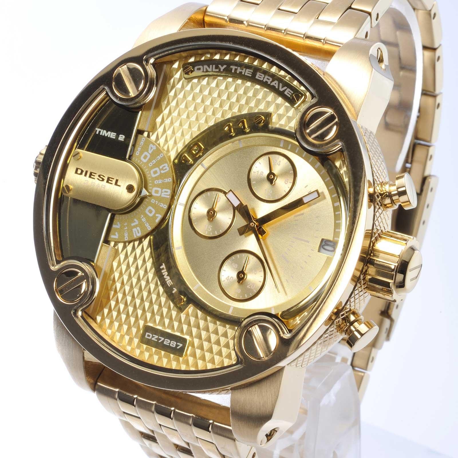 912ca2b059102 Relógio Diesel DZ7287 Little Daddy Gold - EuEnvio Importados ...