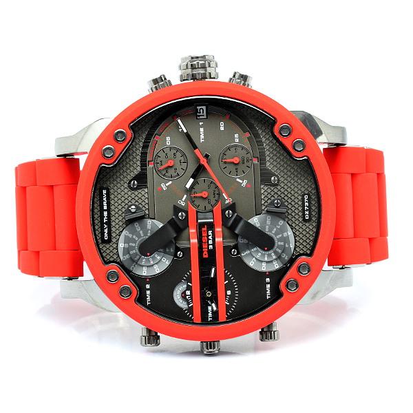 d4735111a33c8 Relógio Diesel Mr. Daddy 2.0 Two Hand Stainless Steel - EuEnvio ...