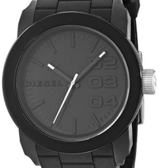 ca2c6762baf03 Relógio Diesel DZ1437 Double Down Black Silicone - EuEnvio ...