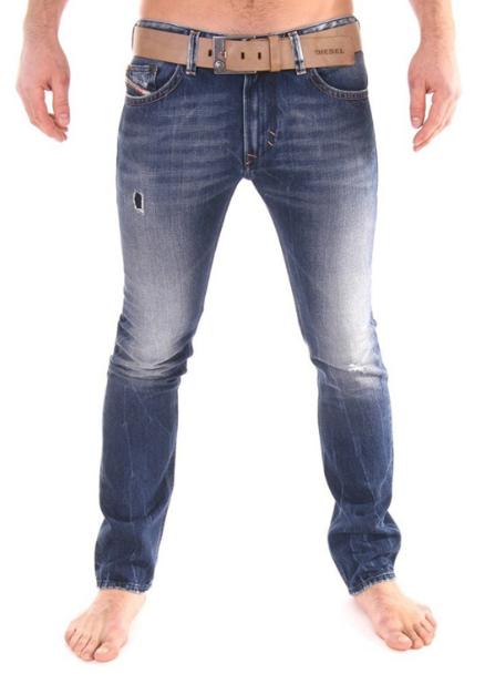 Diesel Men's Thavar Slim Skinny Leg Denim Jeans 0885W