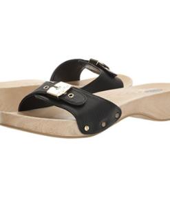 Dr. Scholl's Women's Classic Platform Slide Sandal Black