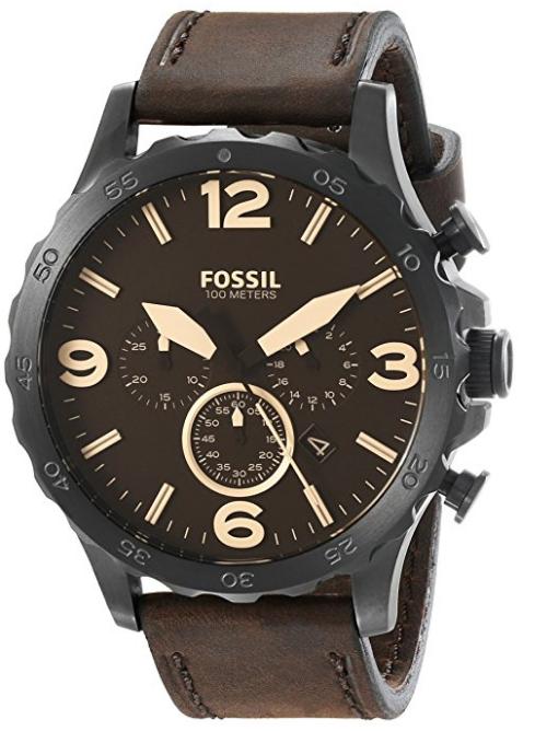 Relógio Fossil Nate Chronograph Leather - EuEnvio Importados ... 949b833c92
