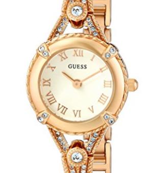 a0a8bdc9e420e Relógio Guess Petite Crystal-Accented Bezel - EuEnvio Importados ...