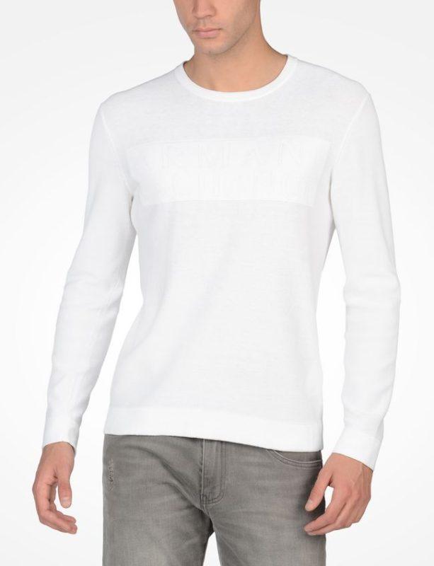 Logo Crew Sweater Branca