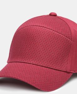 Bone AX Microprint Ax Hat Vermelho