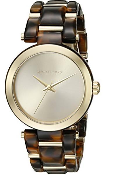 Michael Kors Women's Delray Tort Watch MK4314