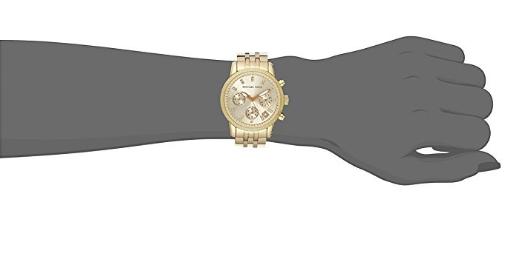 Relógio Michael Kors Ritz Gold-Tone - EuEnvio Importados  Relógios ... 8f460c8549