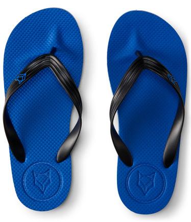 Prince & Fox Solid Logo Flip Flop Azul