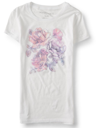 Rose Sketch Graphic T