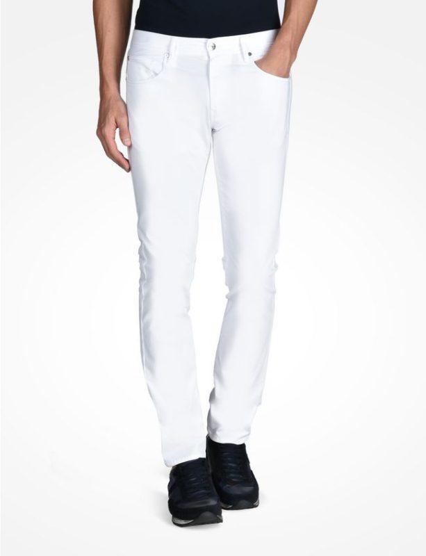 Slim Sateen Pants