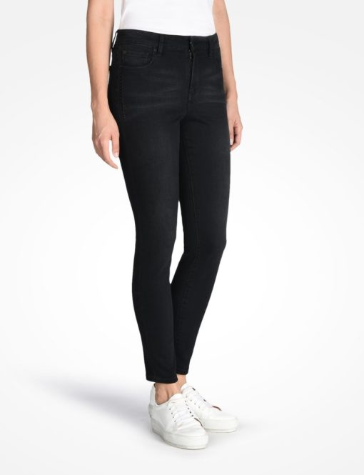 Studded Midrise Super Skinny Jean