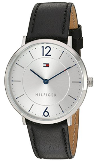 110b82da2b0 Tommy Hilfiger Men s  Sophisticated Sport  Quartz Stainless Steel and  Leather ...
