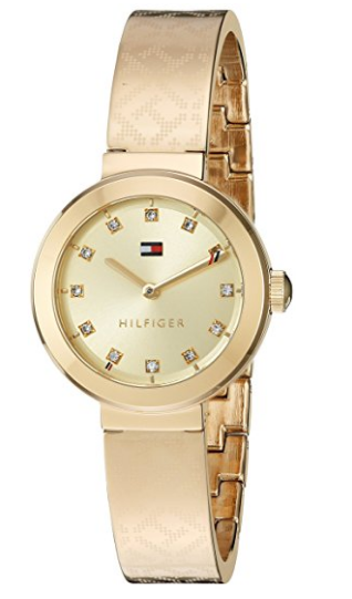 7c60f801f50 Tommy Hilfiger Women s Quartz Tone and Gold Casual Watch Model 1781720