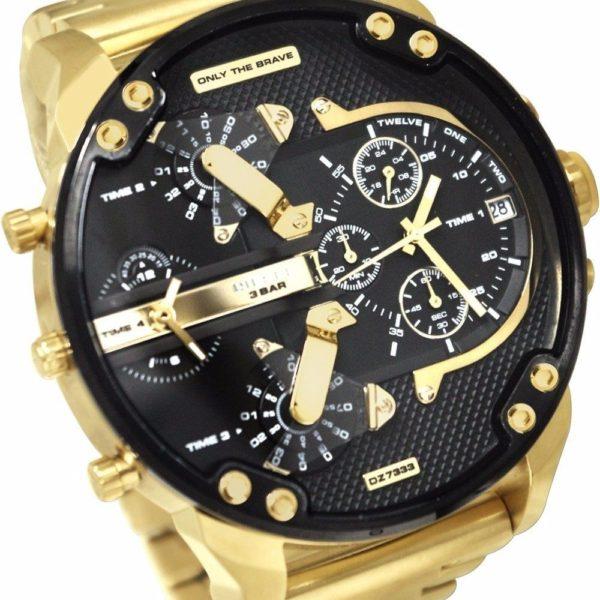 Diesel Watches DZ7333 Mr Daddy 2.0 Stainless Steel Watch
