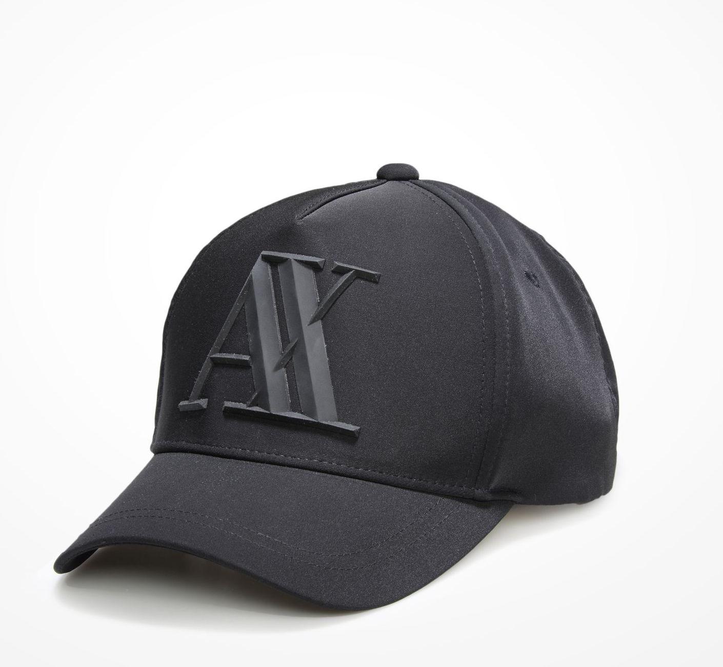 Boné Armani Exchange Rubber Ax Hat Preto - EuEnvio Importados ... 0ad95be562639