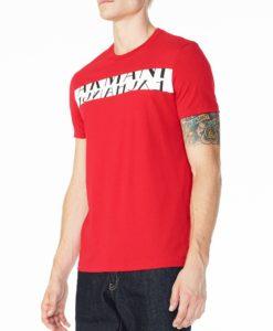 Camiseta Armani Exchange Ax Box Logo Tee Roxa - EuEnvio Importados ... d3c013fd47e79