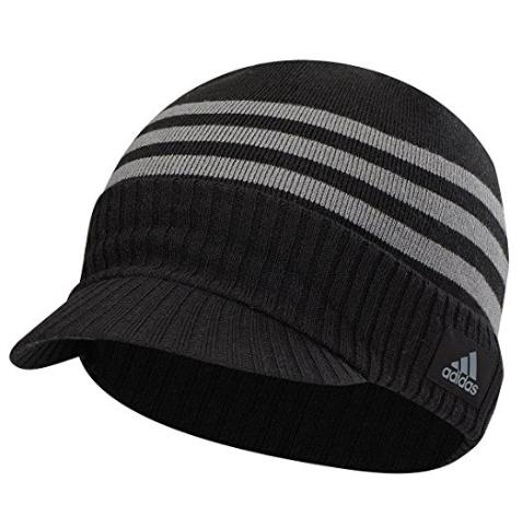 Adidas 2016 ClimaWarm Lightweight Visor Beanie Mens Golf Winter Hat