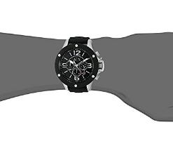 Armani Exchange Men's AX1522 Black Silicone Quartz Watch