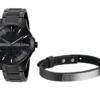Armani Exchange Smart Watch Bracelet Gift Set