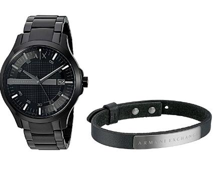 44e4c8d825c Relógio Armani Exchange Smart Watch Bracelet Gift Set - EuEnvio ...