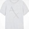 Ax Box Logo Tee Cinza