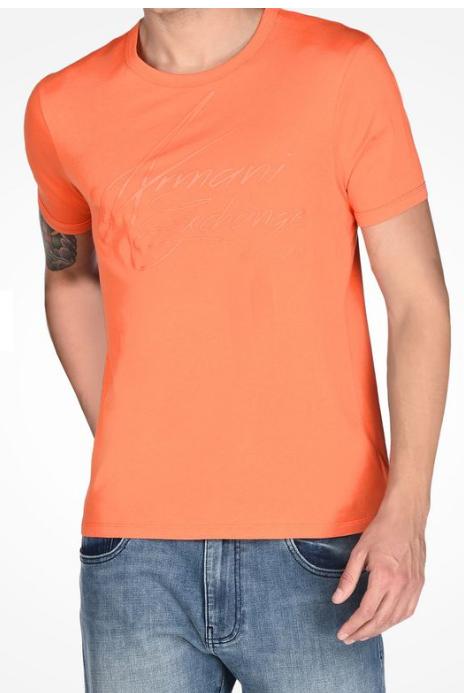 Camiseta Armani Exchange Ax Script Tee - EuEnvio Importados ... 20f6b96d5f366