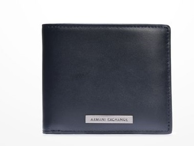 Carteira Armani Exchange Classic Wallet