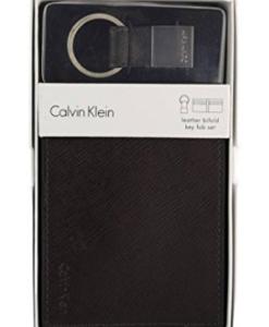 Carteira Calvin Klein Men's Billfold Wallet & Key Fob