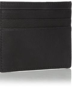 Carteira Calvin Klein Men's Calvin Klein Leather Slim Credit Card Holder Wallet