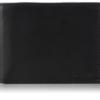 Carteira Calvin Klein Men's Rfid Blocking Leather Bookfold Wallet With Key Fob