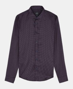 Camisa Armani Diamond dot Slim fit Shirt
