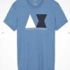 Camiseta Armani Exchange Geometric Logo Azul 3
