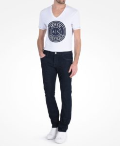 Calça Dark Rinse Slim Fit Jeans