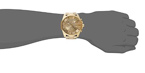 Relógio Diesel DZ4360 Mega Chief Gold - EuEnvio Importados  Relógios ... a4a0ded2aff7a