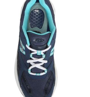 Tênis Dr. Scholl's Curry Medium Wide Memory Foam Walking Shoe Reviews Azul